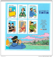 Bloc Feuillet N° 109, TINTIN - Blocs & Feuillets