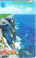 CAYMAN ISL.(GPT) - Cayman Brac Bluff, CN : 163CCID(Msi, O With Barred), Tirage 10000, Used - Kaimaninseln (Cayman I.)