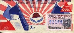 France - 163 - Fédératon Nationale Des Anciens Combattants Prisonniers De Guerre - 1966 2 ème Tranche - Loterijbiljetten