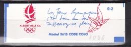 FRANCE Carnet  Albertville 92 N° 2614-C10** - Usage Courant