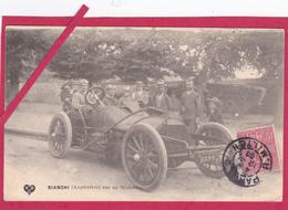 63-Coupe Gordon Bennett 1905 Organisée Par Les Frères Michelin-BIANCHI (Angleterre) Sur Sa WOLSELEY-VOITURE ANCIENNE - Sport Automobile