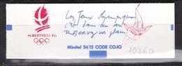FRANCE Carnet  Albertville 92 N° 2614-C10a** Sans N° De Confectionneuse - Carnets