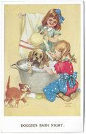 DOGGIE'S BATH NIGHT Gladys Ann Couch Children's Series (Valentine's) [P0070/5/1D] - Children