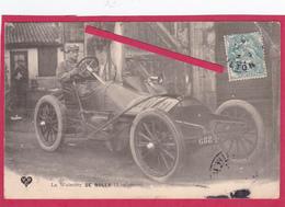 """63-Coupe Gordon Bennett 1905 Organisée Par Les Frères Michelin-La WOLSELEY """"DE ROLLS"""" (Angleterre) -VOITURE ANCIENNE - Sport Automobile"""