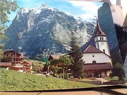SUISSE SVIZZERA SWITZERLAND -SCHWEIZ GRINDELWALD KIRCHE VB1973 HA7983 - BL Bâle-Campagne