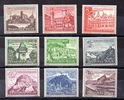 Serie De Alemania Imperiuo N ºYvert 654/62 ** Valor Catálogo 63.0€ - Germany