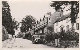 Angleterre : MALPAS : Church Street : Cheshire - ( Automobile ) Cpsm - England
