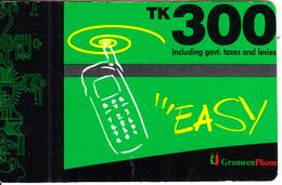 BANGLADESH - Grameen Phone Prepaid Card TK 300, Used - Bangladesh