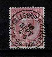 Belg. 46 St Gilles - Brux  (Ch. Charleroi) COBA + € 15,00 (2 Scans) - 1884-1891 Léopold II