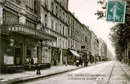 92. HAUTS DE SEINE - NEUILLY-SUR-SEINE. Avenue De Neuilly. Restaurant Gallice. - Neuilly Sur Seine