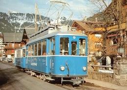 VILLARS En Hiver, Bahn Bex–Villars–Bretaye (BVB) - VD Vaud