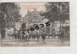 CPA - 54 - NANCY - FETES DES 27 Et 28 Juillet 1912 - Place De La Gare Avant L'arrivée Des Ministres - Militaires - Nancy