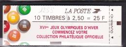 FRANCE Carnet  M&M's N° 2715-C7** Sans N° De Confectionneuse - Usage Courant