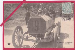63-Coupe Gordon Bennett 1905 Organisée Par Les Frères Michelin-DE CATERS (Allemagne) Sur Sa MERCEDES -VOITURE ANCIENNE - Sport Automobile