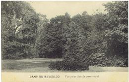 CAMP DE BEVERLOO - Vue Prise Dans Le Parc Royal - Leopoldsburg (Kamp Van Beverloo)