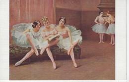 CPA ART - Peintures Et Tableaux - Salon De Paris - Fanny Fleury -- Avant La Lecon - DANSE CLASSIQUE - Cartes Postales