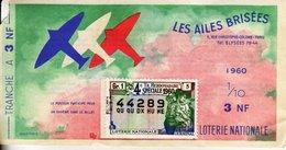 France - 168 - Les Ailes Brisées - 1960 4 ème Tranche Spéciale - Loterijbiljetten