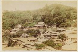 2 Photos Du Japon - XIXéme Sur Papier Albuminé -  1)  MIYANOSHITA   2) MIYANOSHITA - Photos
