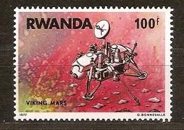 Rwanda Ruanda 1977 OCBn° 829 *** MNH Cote 60,00 Euro Viking Sur Mars - Rwanda