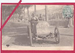 63-Coupe Gordon Bennett 1905 Organisée Par Les Frères Michelin-LANCIA (ITALIE) Sur Sa F.I.A.T. -VOITURE ANCIENNE - Sport Automobile