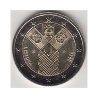 """Moneda 2€ 2018 Lituania """"Estados Bálticos"""" - Lituanie"""