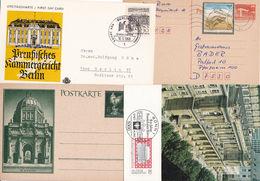 Germany German Lot 60 Postcars - Stamps