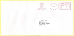 ITALIA - ITALY - ITALIE - 2002 - 00,41 EMA, Red Cancel - Provincia Di Ravenna - Viaggiata Da Bologna Per Lugo - Affrancature Meccaniche Rosse (EMA)