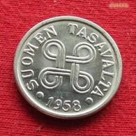 Finland 5 Markkaa 1958 KM# 37a  *V2  Finlande Finlanda Finlandia - Finlande