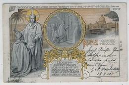 PAPA LEONE XIII  ROMA 1900 PORTA SANTA - Papi
