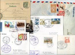 Weltweit / Belegeposten, Rd. 80 Belege, Lupo, GS, So-Belege .......... (10170-380) - Stamps