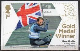 GREAT BRITAIN 2012 Olympic Games Gold Medal Winners: Ben Ainslie - 1952-.... (Elizabeth II)