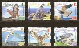 Alderney Aurigny 2008 Yvertn° 327-332 *** MNH Cote 12 Euro Faune Oiseaux Vogels Birds - Alderney