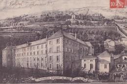VALS PRES LE PUY       INSITUTION AGRICOLE DE VALS.  HOPITAL TEMPORAIRE N° 6. - Guerre 1914-18