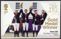 GREAT BRITAIN 2012 Olympic Games Gold Medal Winners: Equestrian Jumping Team - 1952-.... (Elizabeth II)