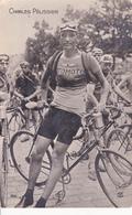 CPA - PHOTO Carte-Photo Sport Cyclisme Vélo Coureur Cycliste Charles PELISSIER Cycling Radsport (2 Scans) - Cyclisme