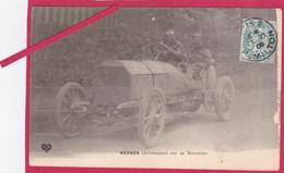 63-Coupe Gordon Bennett 1905 Organisée Par Les Frères Michelin-WERNER (Allemagne) Sur Sa MERCEDES -VOITURE ANCIENNE - Sport Automobile