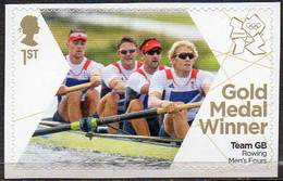 GREAT BRITAIN 2012 Olympic Games Gold Medal Winners: Men's Rowing Fours - Neufs