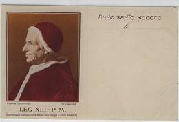 PAPA LEONE XIII  ROMA ANNO SANTO MDCCCC - Papi