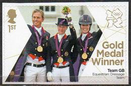 GREAT BRITAIN 2012 Olympic Games Gold Medal Winners: Team Dressage - Neufs