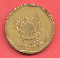 100 Rupiah , INDONESIE , Alu-Bronze , 1993 , N° KM # 53 - Indonésie