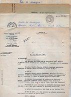 VP14.591 - CHELLES X CLAYE - SOUILLY 1977 - Lot De Documents Concernant La Vente D'une Auto - Ecole Située à CHELLES - Vieux Papiers