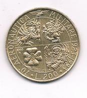 200 LIRE 1993  ITALIE /1423/ - 1946-… : République