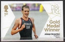 GREAT BRITAIN 2012 Olympic Games Gold Medal Winners: Alistair Brownlee - 1952-.... (Elizabeth II)