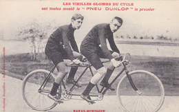 CPA Sport Cyclisme Vélo Coureur Cycliste Les Vieilles Gloires BARAS / MURIGER Tandem Cycling Radsport (2 Scans) - Cyclisme