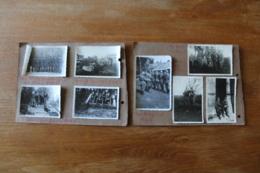 Photos Troupes Allemandes 1942 1943  Au Danemark    Identifiées Localisées WWII - 1939-45