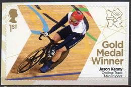 GREAT BRITAIN 2012 Olympic Games Gold Medal Winners: Jason Kenny - 1952-.... (Elizabeth II)