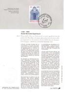 FEUILLET SOUVENIR TP 2907 Obl. 1er Jour 8 Octobre 1994.ECOLE NORMALE SUPERIEURE. - Sonstige