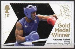 GREAT BRITAIN 2012 Olympic Games Gold Medal Winners: Anthony Joshua - 1952-.... (Elizabeth II)