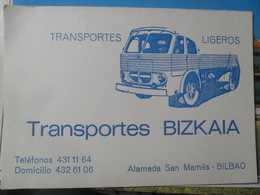 Bilbao Transporte Bizkaia - Camions