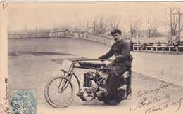 CPA Sport Cyclisme Vélo Motocyclette Les Entraineurs DEVILLY St Cycling Radsport (2 Scans) - Cyclisme